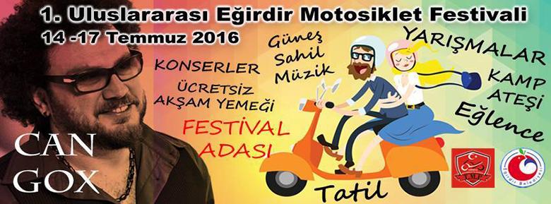 Türkiye Motosiklet Platformu 1. Uluslararası Eğirdir Motosiklet Festivali